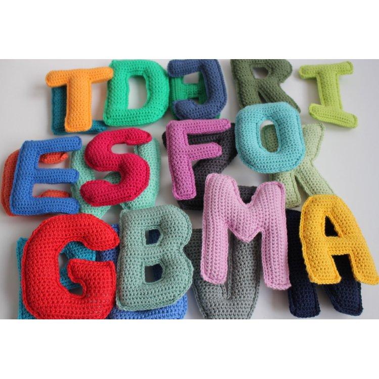 Alle hækleopskrifter på bogstaver